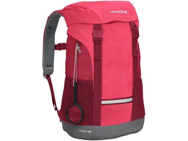VAUDE Pecki 14 Plecak Dzieci, bright pink